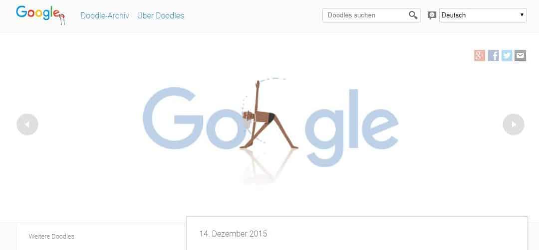 97. Geburtstag von Iyengar wird von Google gewürdigt