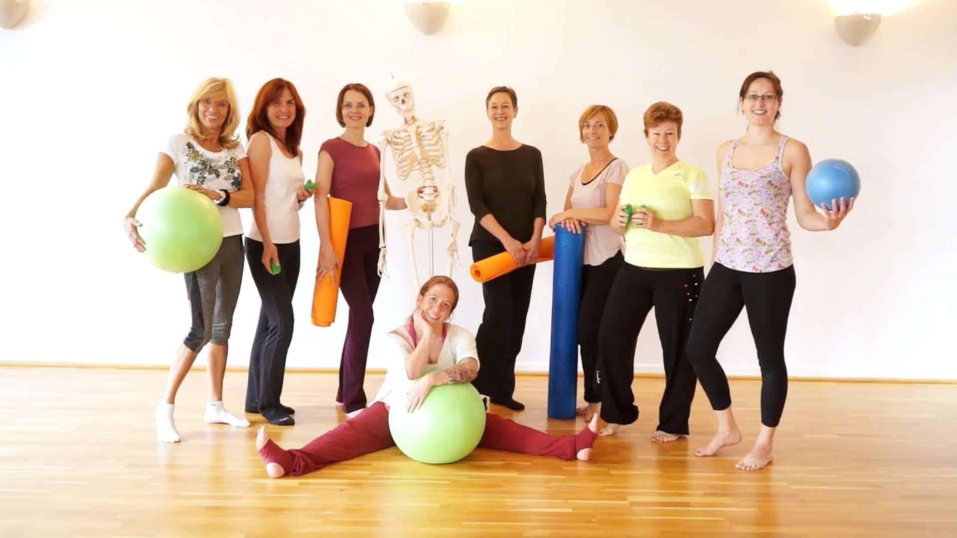 Abschluss der Tripada® Pilatestrainer Ausbildung 2016
